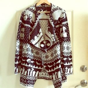 Sweaters - rnightmare before christmas cardigan sweater xs